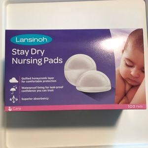 Lansinoh 100ct Stay Dry Nursing Pads
